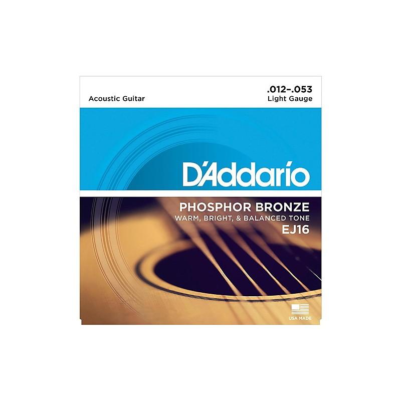 D'Addario EJ16 .012