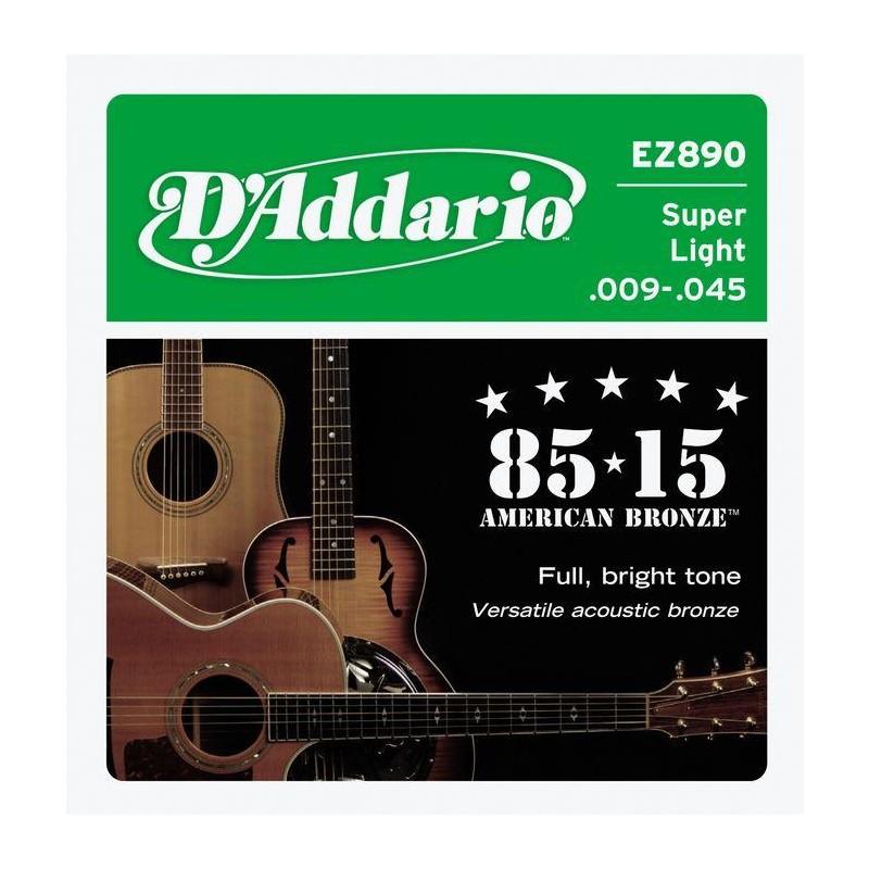 D'Addario EZ890 .009