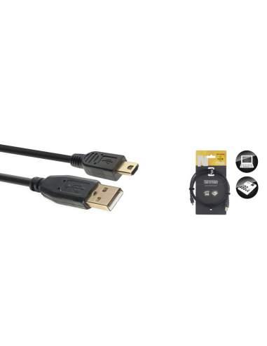 Duomenų kabelis Stagg USB A/mini USB A/m, 1,5 m
