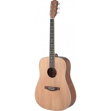 Ak. gitara kairiarankiams James ASY-DLH