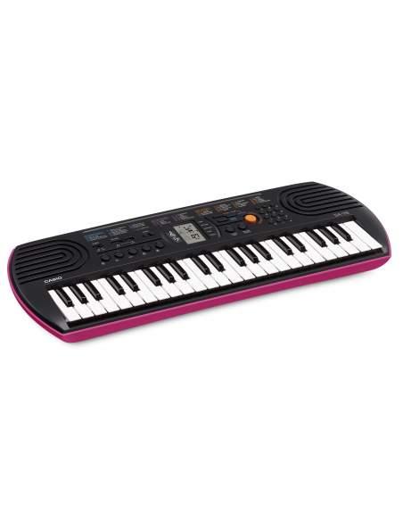 Mini size sintezatorius SA-78 su mini klavišais (rožinis). Adapteris nepridedamas