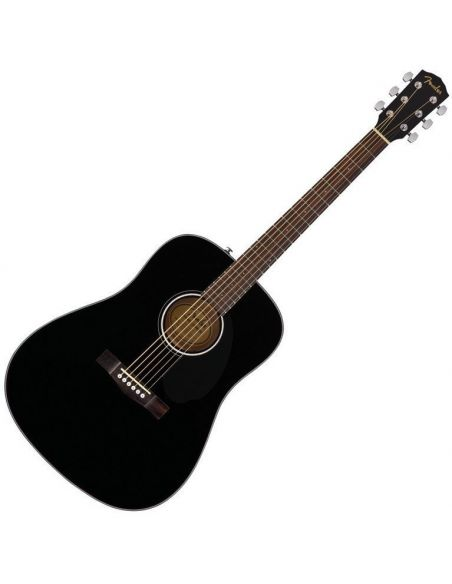 Akustinė gitara Fender CD-60S Dread, Black WN