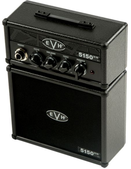 Mini stiprintuvas el. gitarai Fender EVH STEALTH MICRO STACK BLK