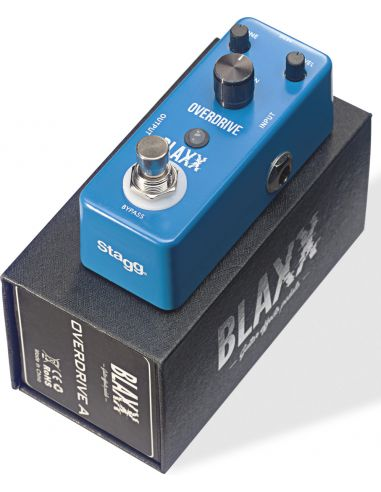 Pedal for electric guitar Stagg Blaxx BX-DRIVE A