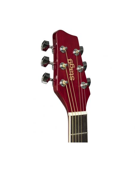 Acoustic guitar Stagg SA20D RED