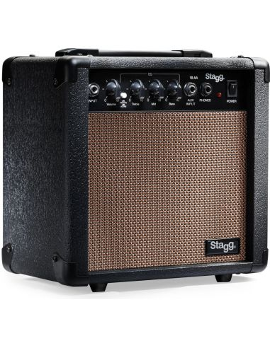 Amplifier for acoustic guitar Stagg 10 AA EU