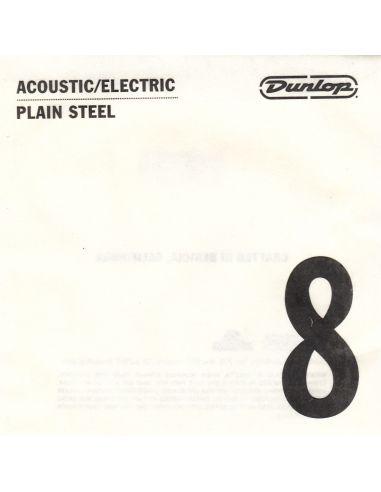 Styga akustinei/elektrinei Dunlop DPS08 0.08