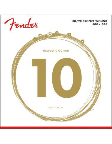 Stygos ak. gitarai Fender 70XL 80/20 Bronze 10-48