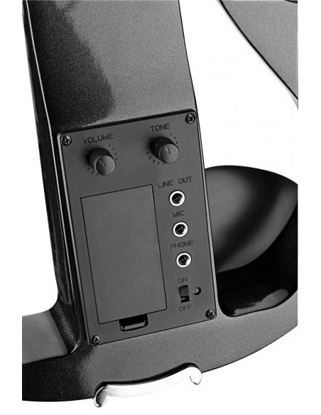Комплект электрической скрипки Stagg EVN X-4/4 МBK