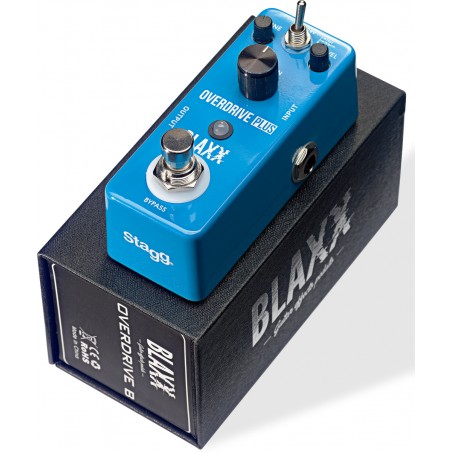 Pedal for electric guitar Stagg Blaxx BX-DRIVE B