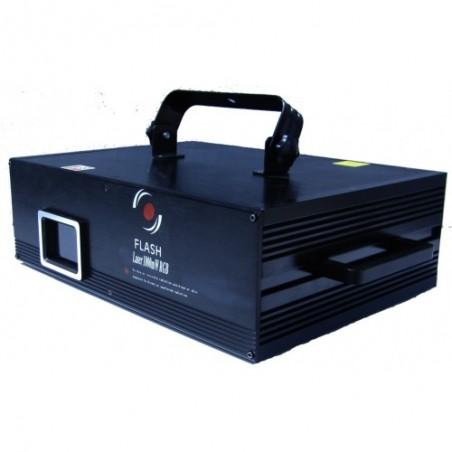 Lazeris RGB 1000mW ILDA DB  DMX  II ev.