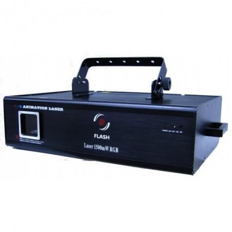 Lazeris RGB 1500mW ILDA DB  DMX