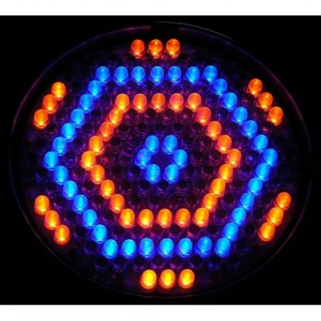Prožektorius LED PAR 64 RGBW RE BK