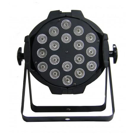 Prožektorius LED PAR 64 18x10W RGBW 4in1 AL