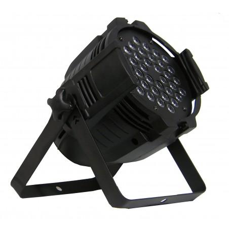 Prožektorius LED PAR 64 36x3W RGB 4in1 AL