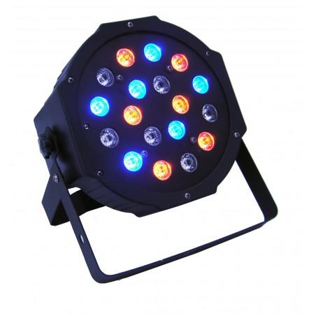 Prožektorius LED PAR 56 18x3W RGB