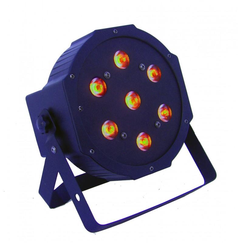 Prožektorius LED PAR 56 7x8W RGBW 4in1 ECO