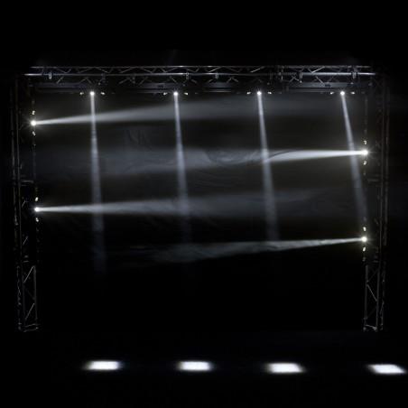Efektas LED MOVE WASHER 8x10W WHITE DMX