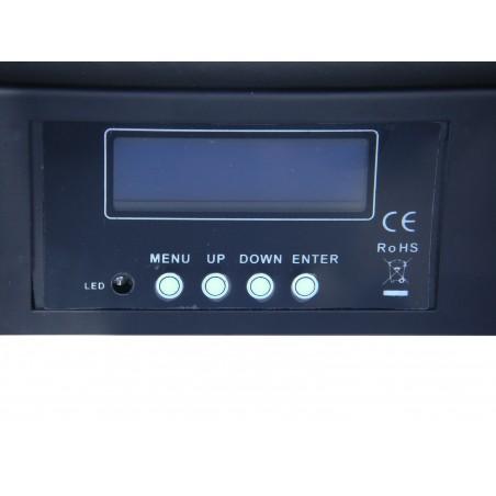 Efektas LED MOVE WASHER 8x10W RGBW 4in1  DMX
