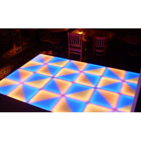 LED grindys 1x1m RGB DMX