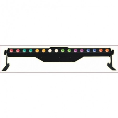 Efektas LED WASHER 3in1 RGB 16x 3W