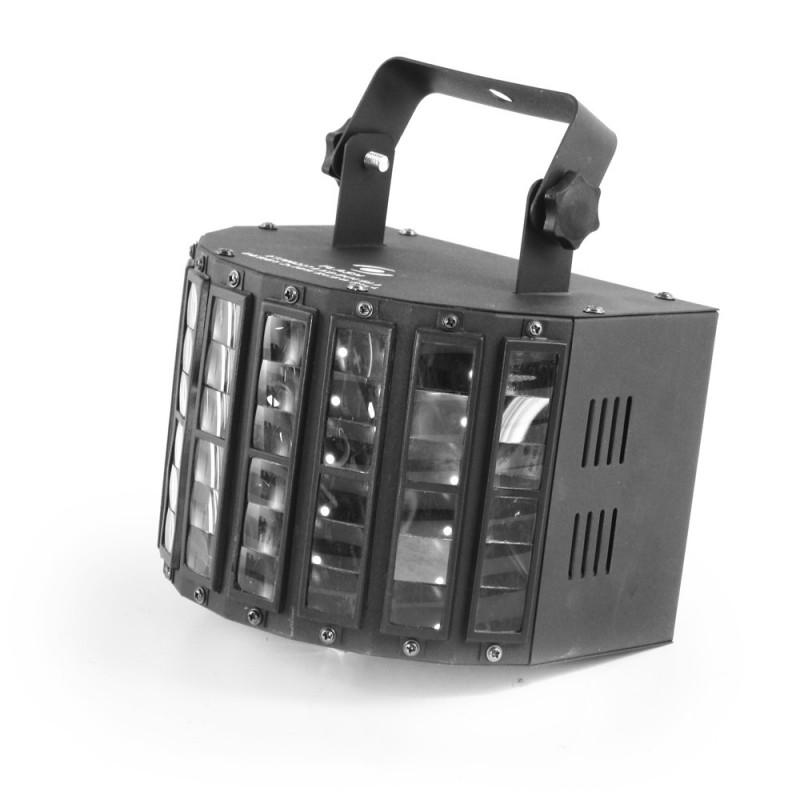 Šviesos efektas Flash LED Double Derby 2x10W 4in1