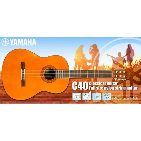 Komplektas Yamaha C40 Performance Pack