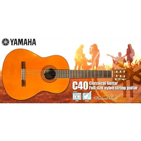 Komplektas Yamaha C40 Standart Pack