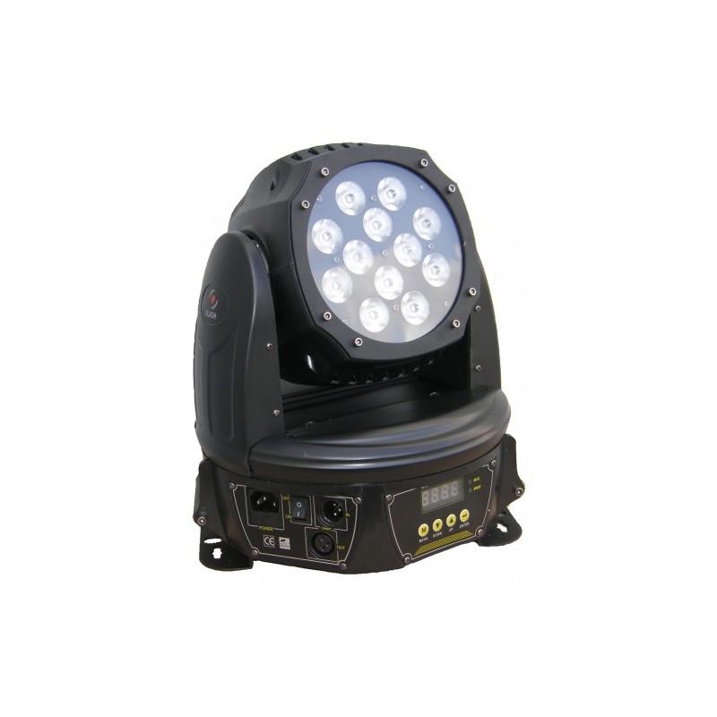 LED Judanti galva ZOOM 144W 4in1 RGBW WASH