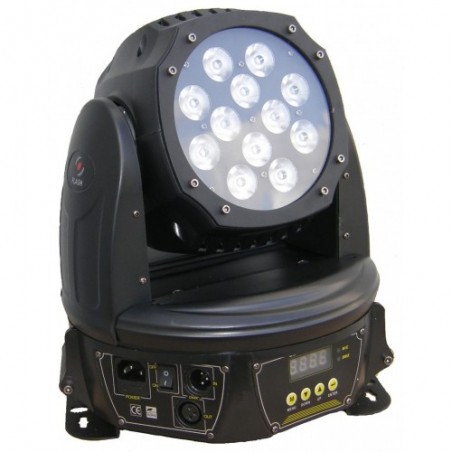 LED Judanti galva 144W 4in1 RGBW WASH