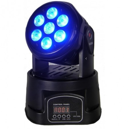 LED Judanti galva 7x10W RGBW 4in1