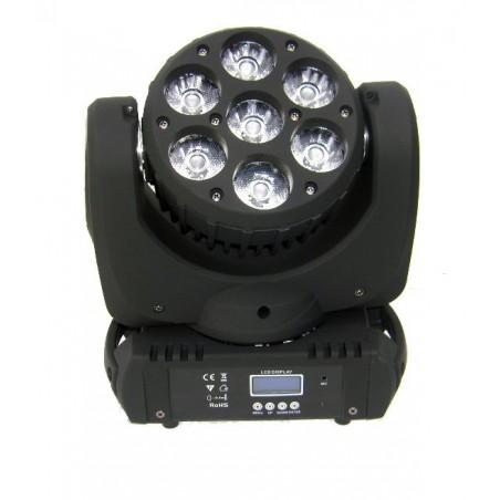 LED Judanti galva 7x15W RGBW 4in1 OSRAM