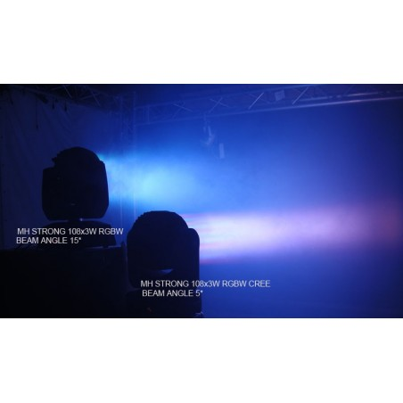 LED Judanti galva STRONG II 108x3W RGBW CREE BEAM
