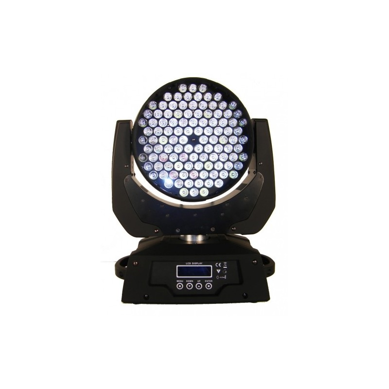 LED Judanti galva STRONG 108x3W RGBW WASH IIver.