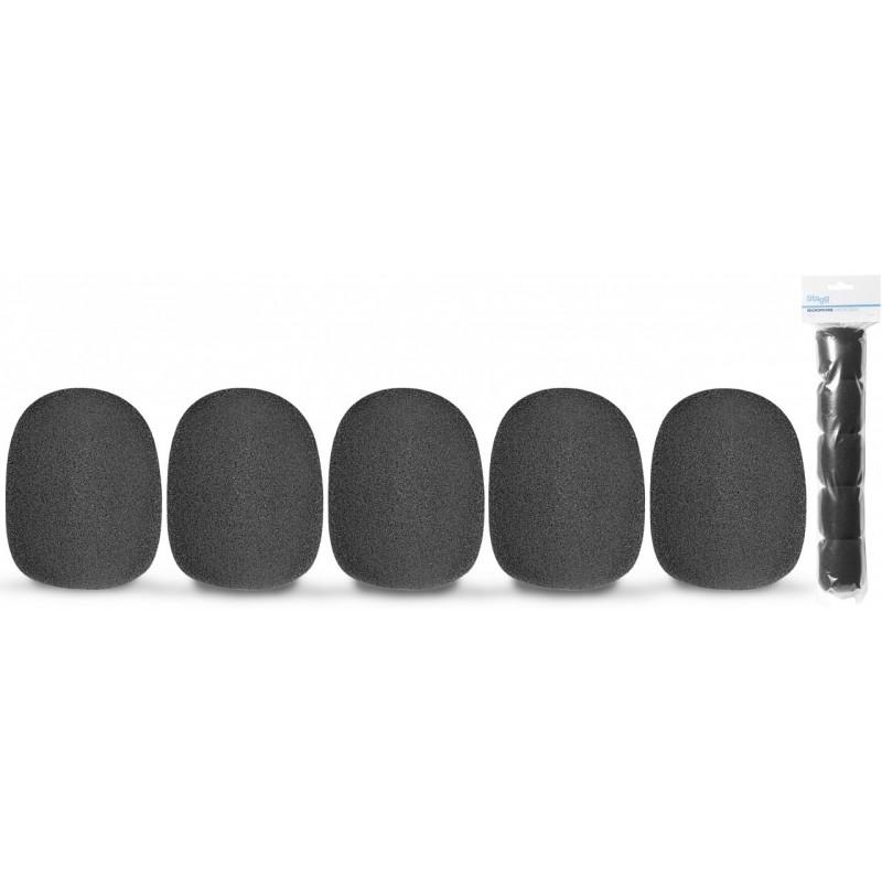 Foam windscreens for microphone Stagg WS-S35/B5