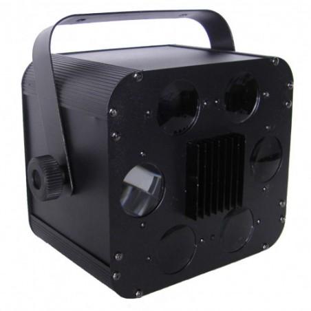 Efektas LED SIX HOLE LIGHT 2x10W RGBW 4in1