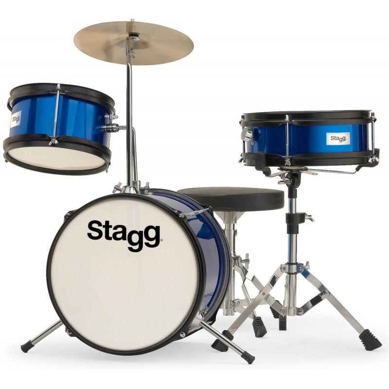 Junior drum set Stagg TIM JR 3/12B BL