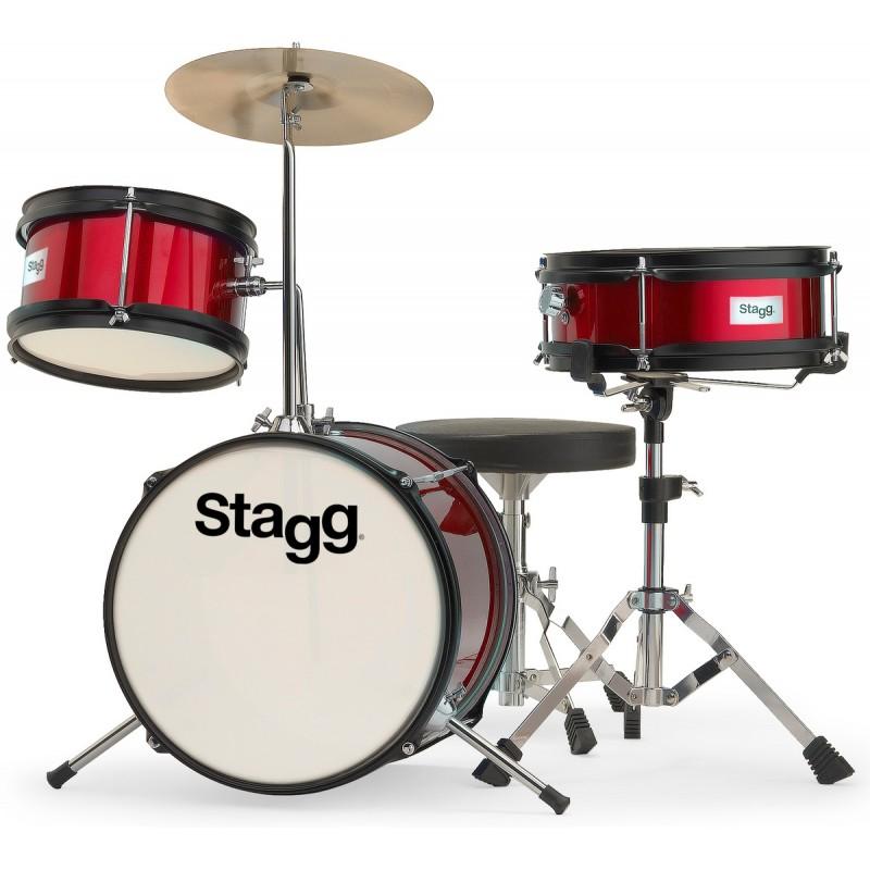 Vaikiški būgnai Stagg TIM JR 3/12 RD