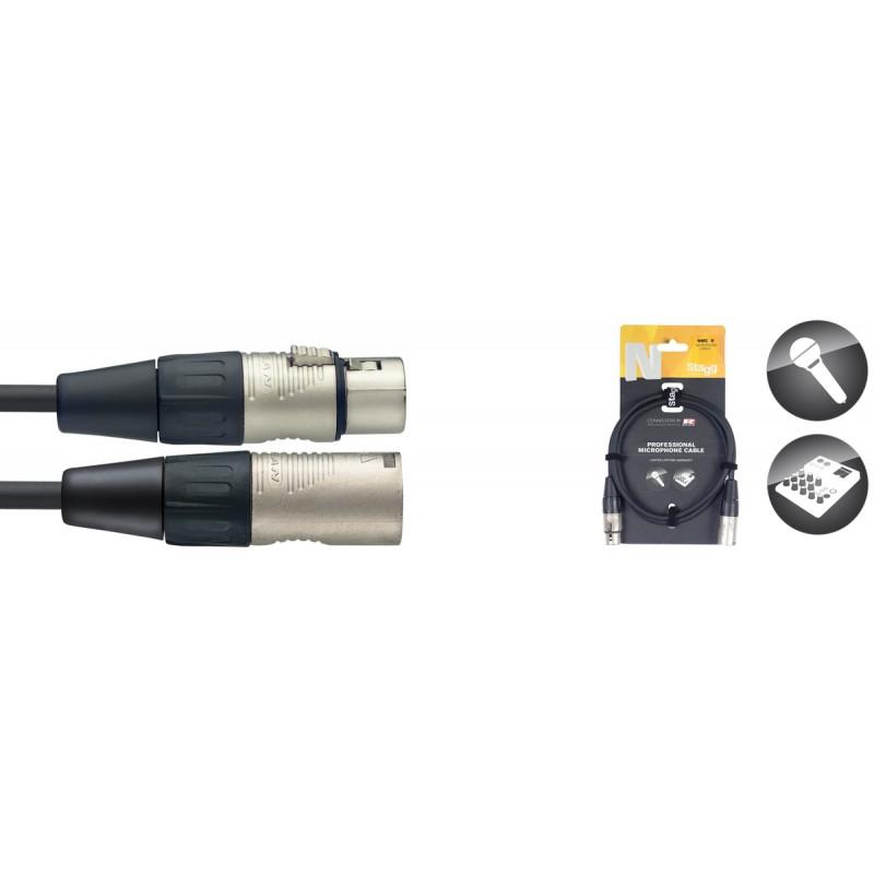 Audio kabelis Stagg NMC20R, 20m