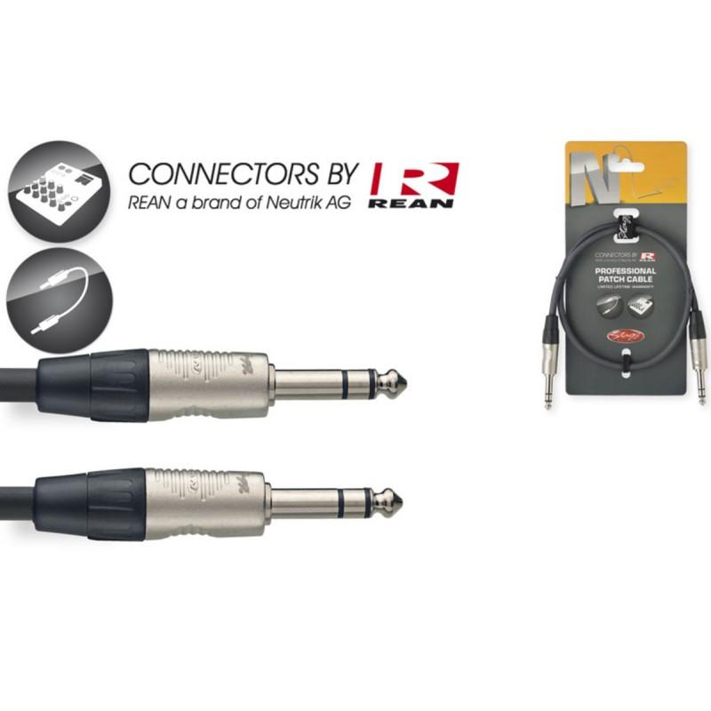 Audio cable Stagg NPC060SR, 0.6m