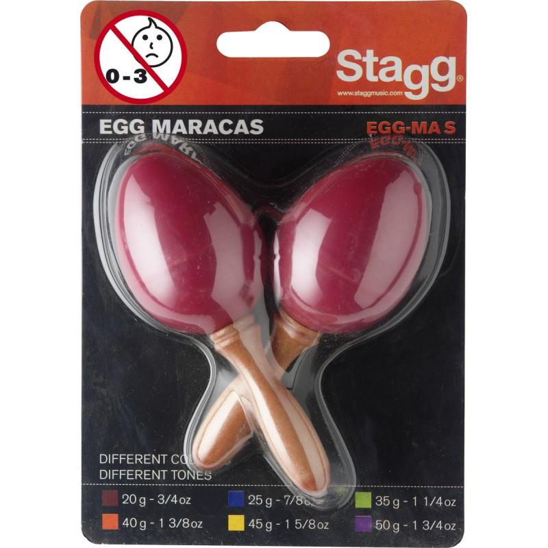 Plast. marakasai Stagg EGG-MA S/RD