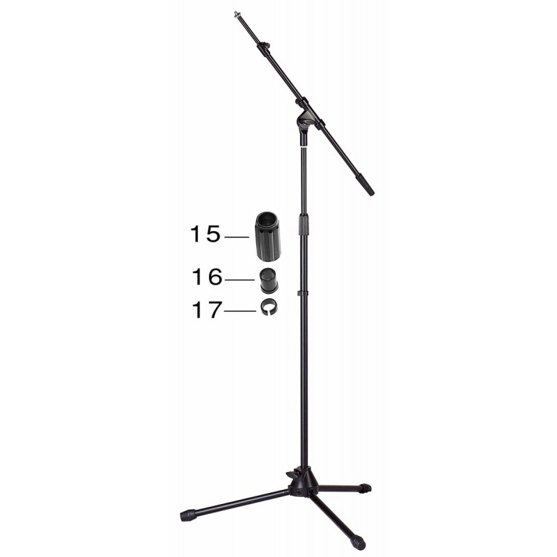 Microphone stand Stagg MIS-2024BK