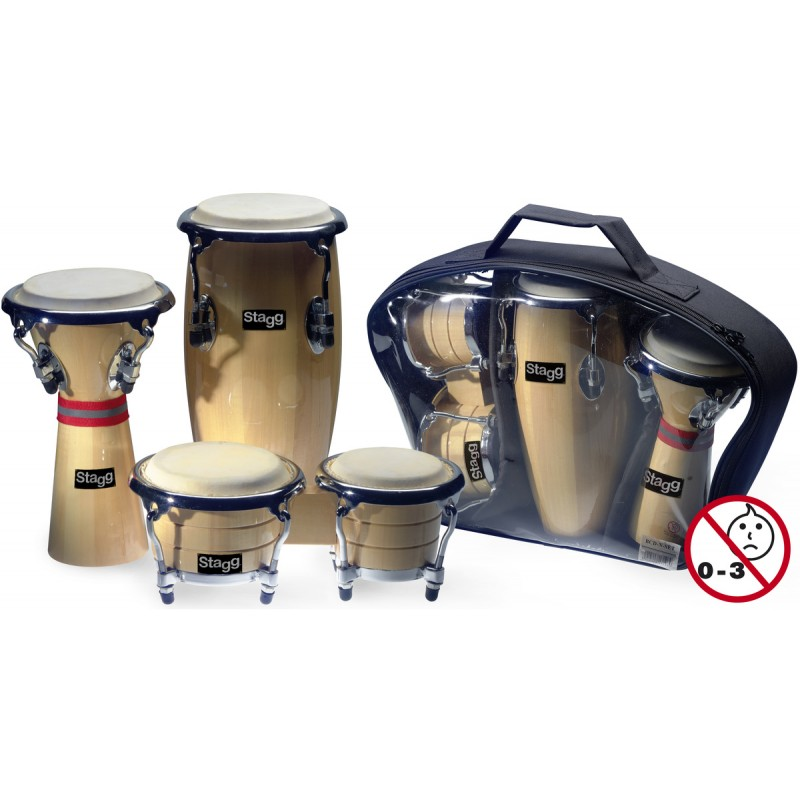 Percussion Package Stagg BCD-N-SET