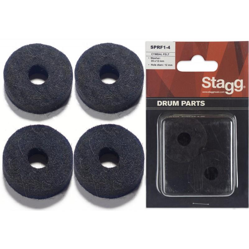 Lėkščių veltiniai 4 vnt. Stagg SPRF1-4