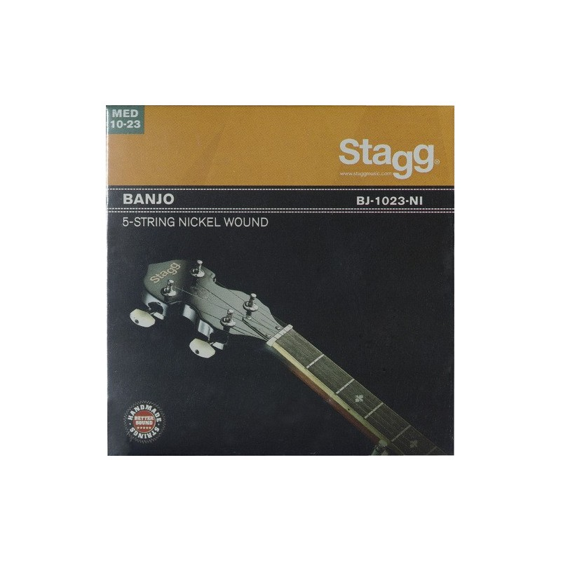 Stygos 5-stygų bandžai Stagg BJ-1023-NI