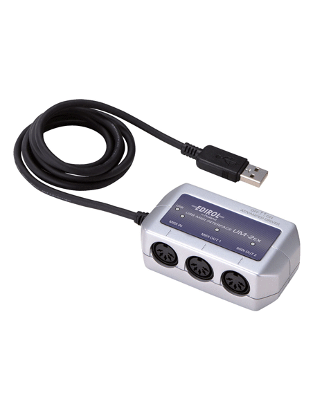 MIDI - USB sąsajos