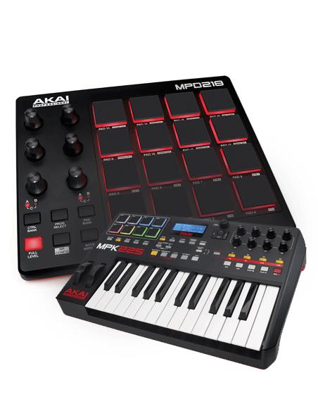 MIDI valdikliai, kontroleriai, klaviatūros