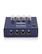 Headphone splitters, amplifiers