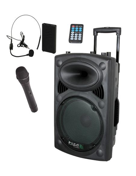 Mobilios garso sistemos (su baterija)