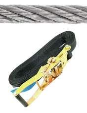 Clamping belts, ropes